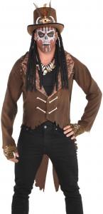 Veste Vaudou Witch Doctor Halloween M/L