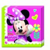 Lot de 20 serviettes jetables en papier Minnie Bow-tique