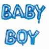 Ballons lettres Baby Boy Mylar 118 cm x 24 cm