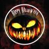 Badge lumineux auto-collant Halloween 3 leds clignotantes