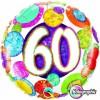 Ballon Anniversaire 60 ans aluminium