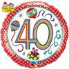 Ballon Anniversaire Rachel Ellen Designs 40 ans