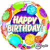 Ballon Joyeux anniversaire aluminium
