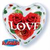 Ballon Love roses 50 cm