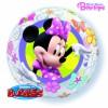 Ballon Minnie mouse bubble transparent