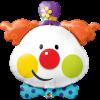 Ballon Tête de clown 91 cm