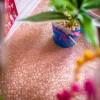 Chemin de table étincelant paillettes rose gold 28 cm x 3 m