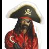 Chapeau de pirate et bandeau