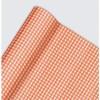 Chemin de table petits carreaux vichy rouge 10 m x 0,40m