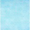 Chemin de table turquoise aquarelle 30 cm x 5 m
