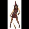 Déguisement de sorcière punk Halloween taille L