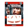 Fausse Cicatrice sourire 3D Halloween