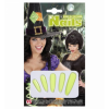 Faux ongles extra longs phosphorescents Halloween