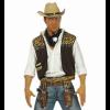 Gilet de cowboy avec bandana