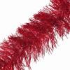 Guirlande boa rouge 6 plis 20 cm x 3 m