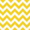 Lot de 20 serviettes Chevron jaune 33 x 33 cm