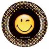Lot de 8 assiettes jetables en carton Smiley Emoticons 23 cm