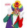 Nez de clown rouge lumineux