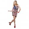 Robe USA à paillettes taille M