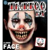 Tatouage clown temporaire Halloween