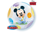 Ballon Bubble Baby Mickey 55 cm