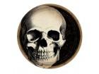 Lot de 10 assiettes jetables Vaudou Witch Doctor Halloween D 23 cm