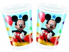 Lot de 8 gobelets jetables en carton Mickey 20 cl