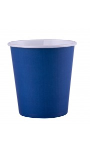 Lot de 25 gobelets en carton bleu marine 20 cl