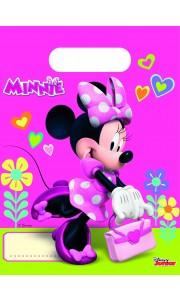 Lot de 6 sachets cadeaux Minnie Bow-tique