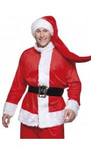 Bonnet de père Noël longueur XXL