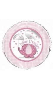 Ballon Baby shower fille 43 cm