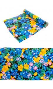 Chemin de table fleurs Tropicales 28 cm x  3 m