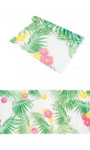 Chemin de table Romance feuillage tropical 29 cm x 5 m
