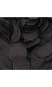 Confettis ronds noir en papier