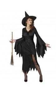 Déguisement evelina halloween noir