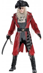 Déguisement Zombie Capitaine Pirate Halloween homme