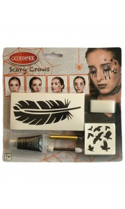 Kit de maquillage Corbeau  Halloween
