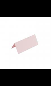 Lot de 10 marque-place rose poudré 9,5 x 4 cm