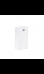 Lot de 6 pochettes kraft blanc 10,5 x 18 cm