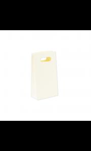 Lot de 6 pochettes kraft ivoire 10,5 x 18 cm