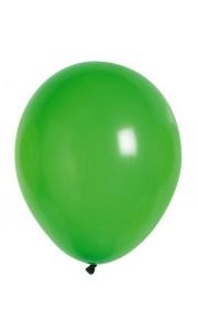Lot de 100 ballons en latex opaque vert