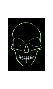 Masque La Purge neon Squelette Halloween