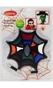 cape en voile impression toile d 39 araign e halloween. Black Bedroom Furniture Sets. Home Design Ideas
