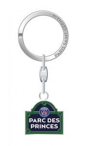 Porte-clé PSG Plaque de rue Parc des Princes