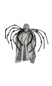Serre-Tête noir araignée Halloween 19 x 14 x 4 cm