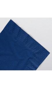 Serviettes papier ouate bleu royal 2 plis AVA 40 x 40 cm