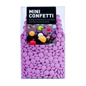Mini Confetti Rose nacré chocolat au lait 200 gr