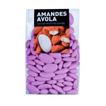 Dragées Amande Avola Rose nacré 450 gr