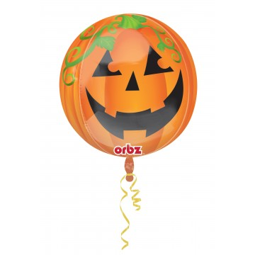 Ballon citrouille Happy Halloween ORBZ