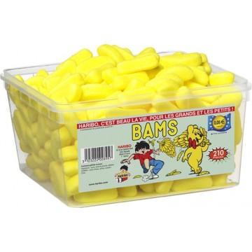 Boîte de bonbons Bams Haribo